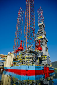 Equinor has exercised two options for the Maersk Intrepid jackup.